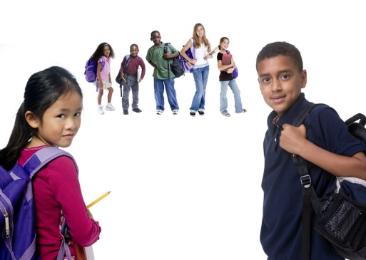 Kids Heading to School