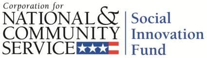 CNCS Social Innovation Fund Logo