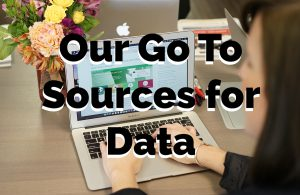 Our Go to Sources for Data- Blog image2